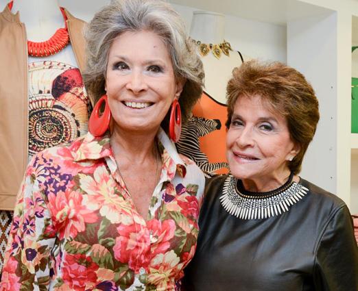 Gisela Amaral e Sonia Isnard
