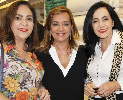 Jacyra Lucas, Claudia Simões e Liliana Rodriguez