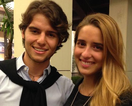 José Eduardo e Rafaela
