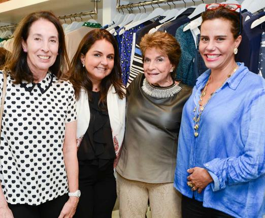 Marina Sauer, Amelinha Azeredo, Sonia Isnard e Narcisa Tamborindeguy