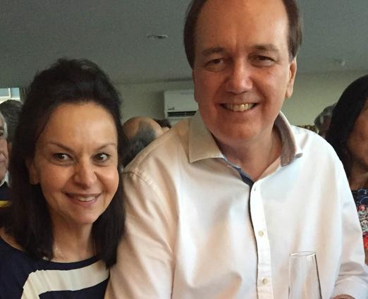 Monica e Ricardo Faria