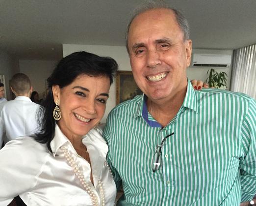 Monica e Sérgio Clark
