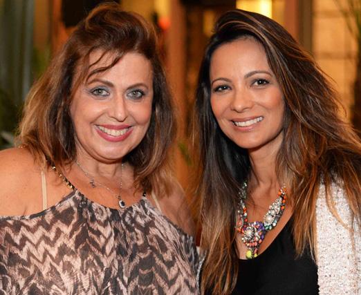 Suzana Leal e Marcia Romão
