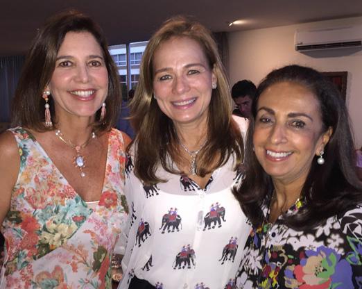 Suzel Rosman, Frederica Bastian Pinto e Tania Carvalho