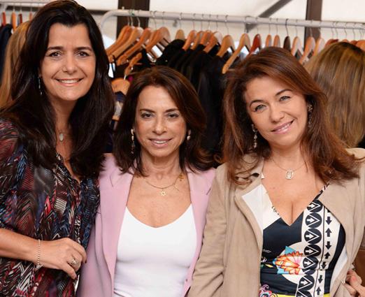 Andrea Tupinambá, Yvonne Bezerra de Mello e Marta Isaksen