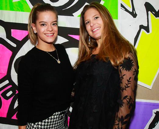Beta Whately e Alice Luz