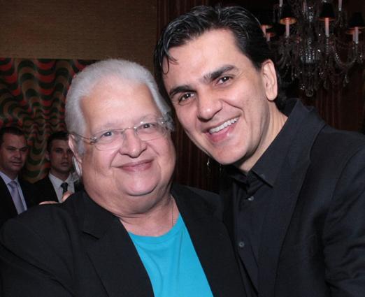 Carlos Alberto Serpa e Gabriel Chalita