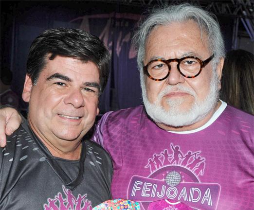 Cesar Romero e Ricardo Amaral