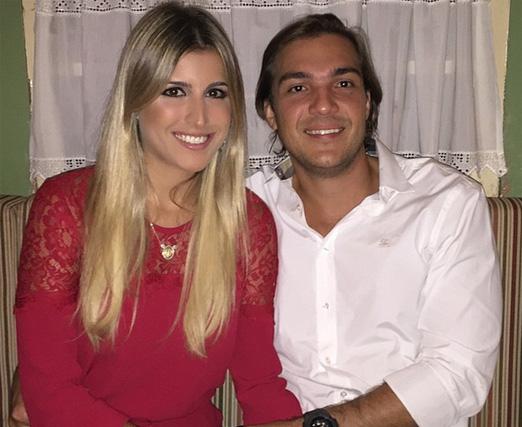Dandynha e Vitor Smeral