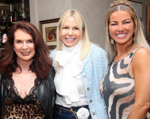 Jane Rose Klarnet, Nina Kauffmann e Sandra Cavalcanti