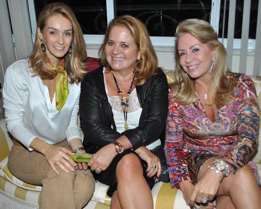 Kitty Monte Alto, Renata Fraga e Marise Gollo