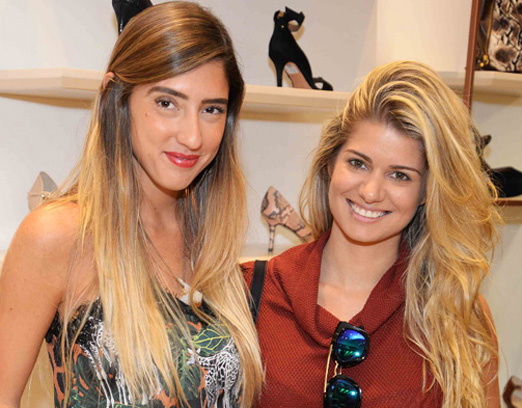 Lu D'Angelo e Ana Bonilha