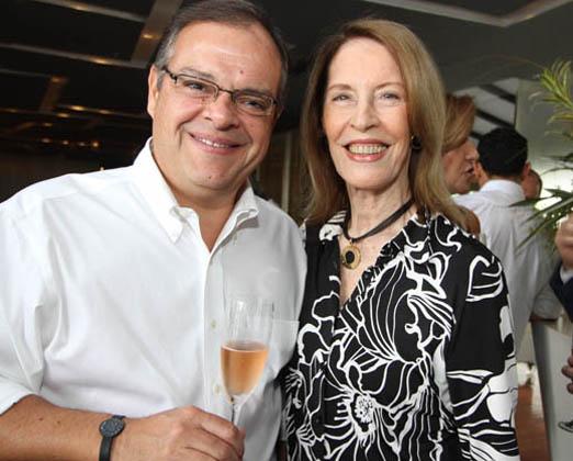Marcelo Torres e Mirtia Galloti