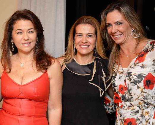 Marta Isaksen, Débora Barbosa e Márcia Veríssimo