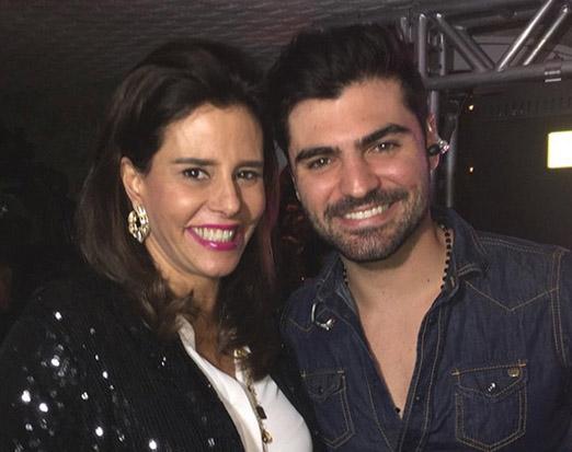 Narcisa Tamborindeguy e Wagner Simão