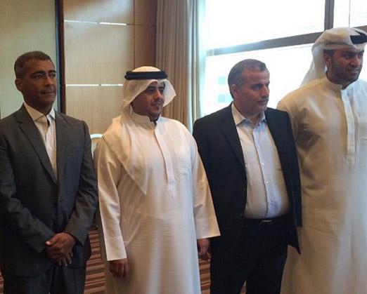 Romário em Dubai