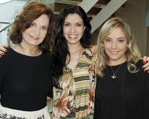 Rosamaria Murtinho, Joyce Candido e Heloisa Perissé
