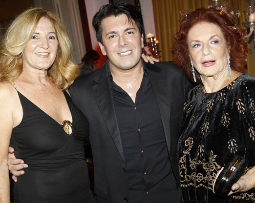 Simone Rodrigues, André Ramos e Eliana Moura