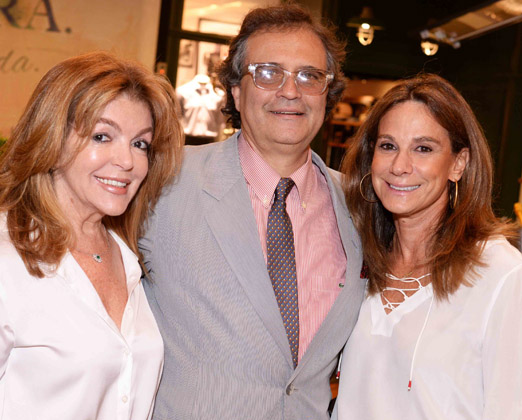 Sonia Simonsen, Zé Ronaldo e Gabriela Itagiba