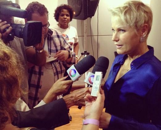 Xuxa na Fnac do Barra Shopping