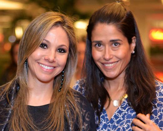 Alessandra Amaral e Paula Severiano Ribeiro