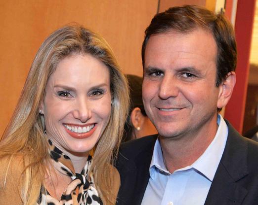 Leticia Levy e Eduardo Paes