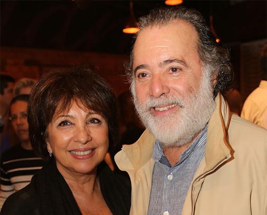 Tony Ramos e a mulher Lidiane