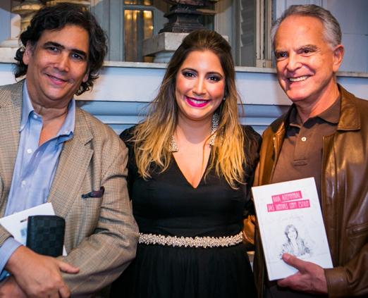 Antonio Neves da Rocha, Carol Hungria e Ricardo Stambowsky