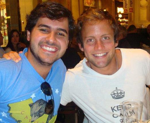 Dudu Clark e Rafael Fraga