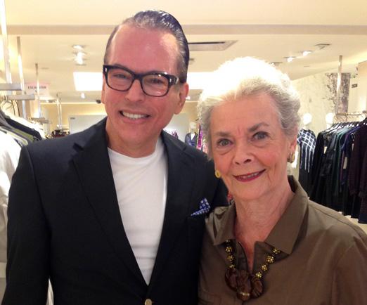 Heckel Verri e Betty Halbreich