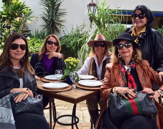 Hosana, Sumaya, Rosana, Jane e Vera