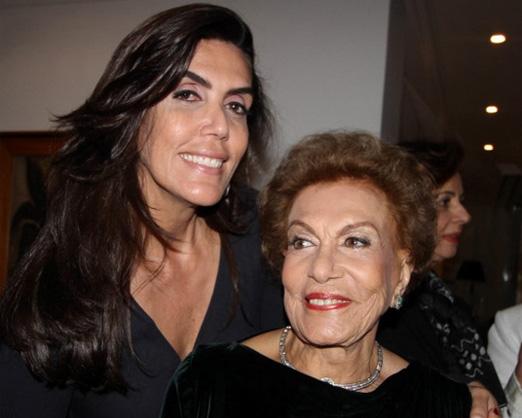 Iná Arruda e sua mãe Carmem