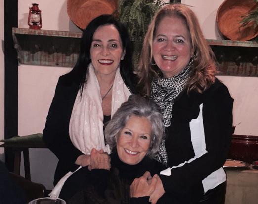 Liliana, Renata e Gisella