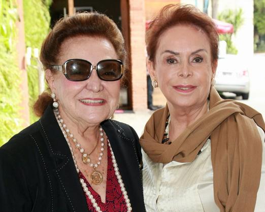 Lucy Sá Peixoto e Marta Stewart