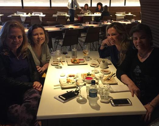 Márcia Veríssimo, Renata Fraga, Rose May Addario e Rejane Borges Fortes