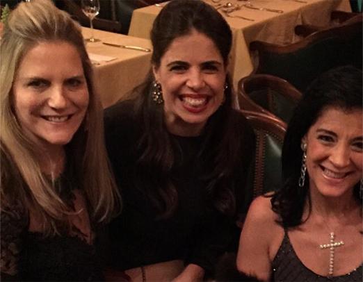 Maninha Barbosa, Camila Toledo e Monica Clark