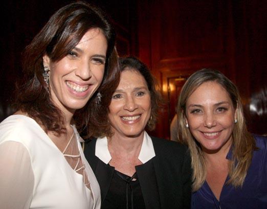 Maria Clara Gueiros, Natália do Valle e Heloísa Périssé