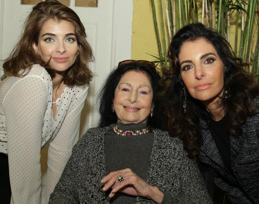 Maria Frering, Carmen Mayrink Veiga e Antonia Frering