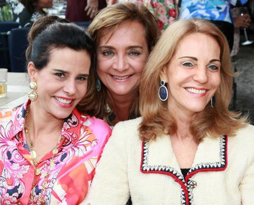 Narcisa Tamborindeguy, Claudia Simões e Ana de Paula