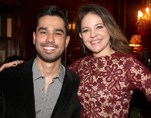 Os dermatologistas Cyro Hirano e Denise Barcelos