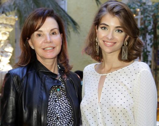 Patricia Mayer e Antonia Frering