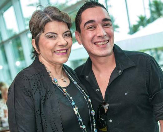 Rose May Addario e Hugo Oliveira