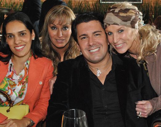 Thais Araújo, Cinthia Coca, André Ramos e Marie Annick Mercier