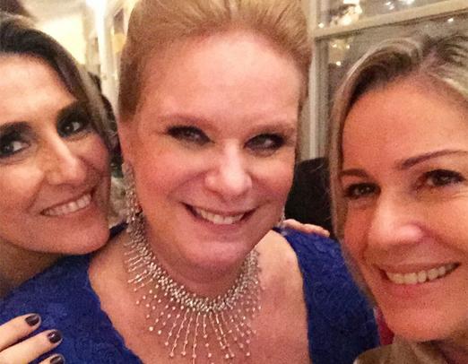 Valéria Merlo, Luciana Dale e Marcia Peltier