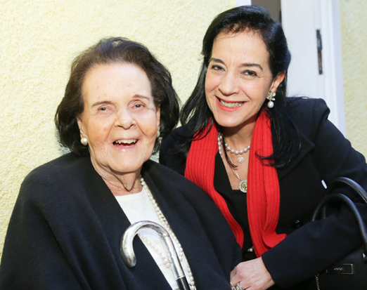 Vera Rudge e Monica Clark