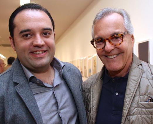 Acacio Lisboa e Cesar Giobbi