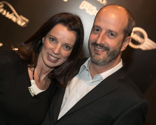 Ana Cury e João Luiz Souza Lima