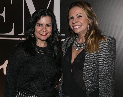 Ana Lucia Zambon e Vivi Mascaro
