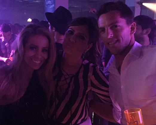 Danielle, Carol e Amaury
