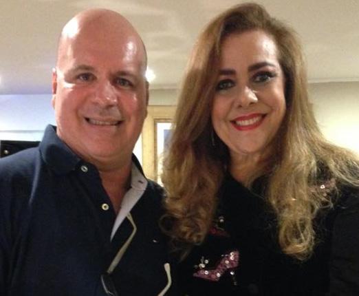 Eder Meneghine e Carmen Emília Xavier